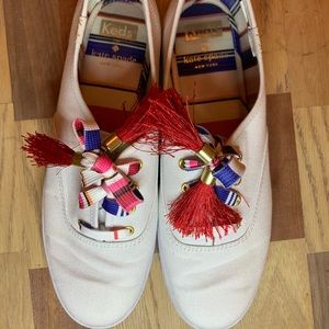Keds x Kate Spade New York sneakers w/tassel laces